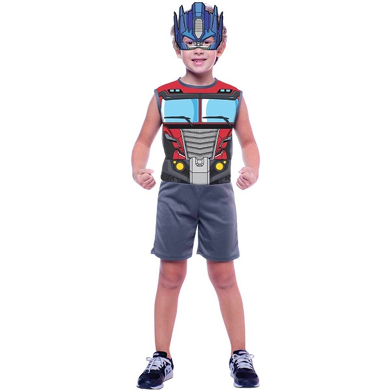 Fantasia Optimus Prime - Curta - Pop - Infantil