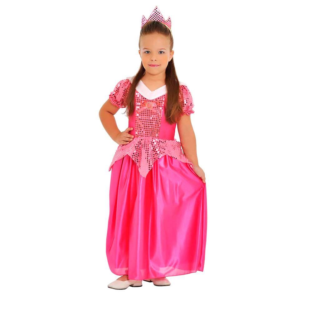 Fantasia Princesa Rosa