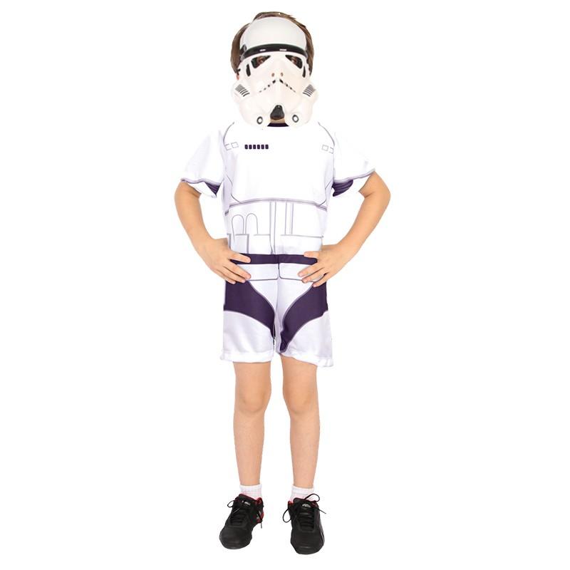 Fantasia Stormtrooper - Curta - Infantil