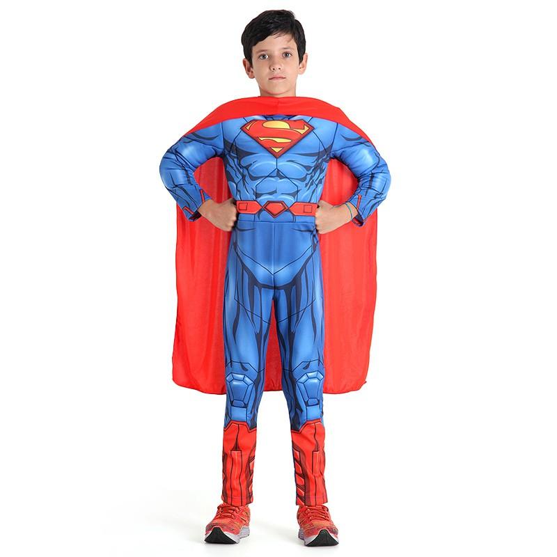 Fantasia Super Homem - Premium - Infantil