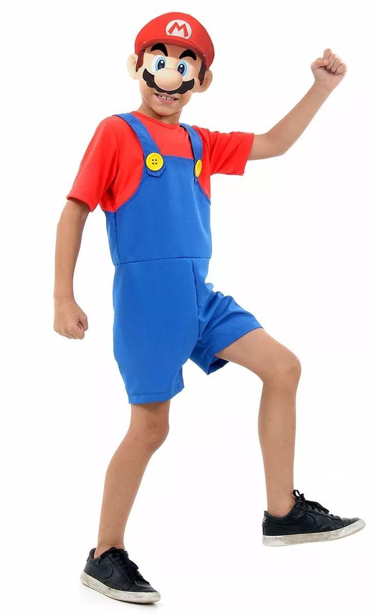 Fantasia Super Mario Bros Curto