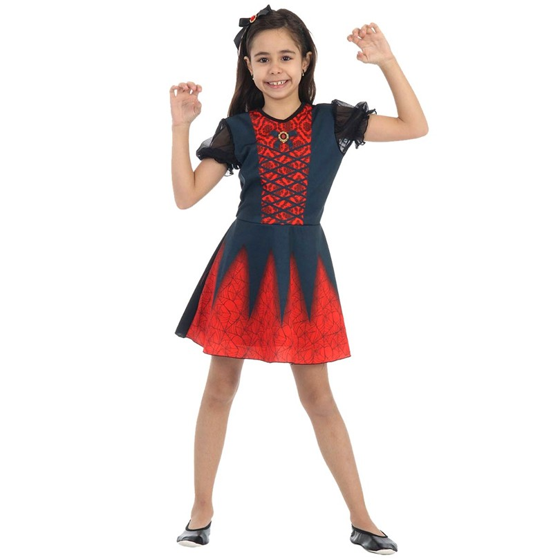 Fantasia Vampira Bella - Infantil