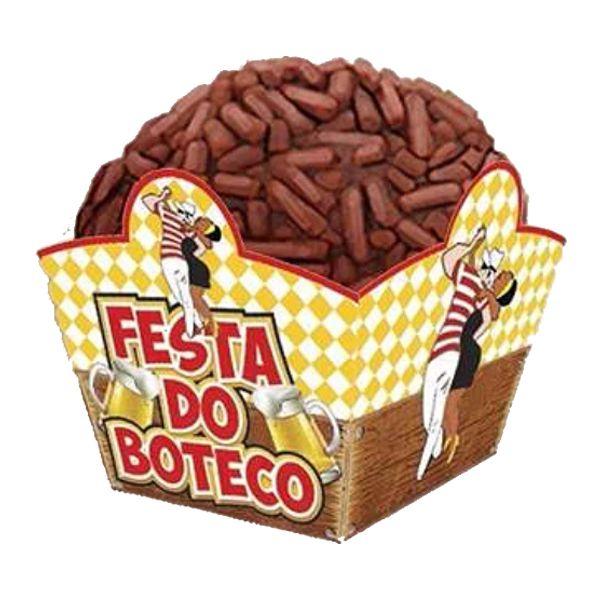 Forminha Brigadeiro Boteco c/ 24 unid.