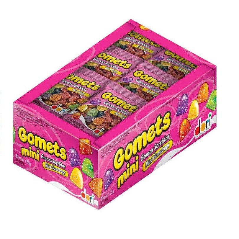 Gomets - 600g - 30 unidades