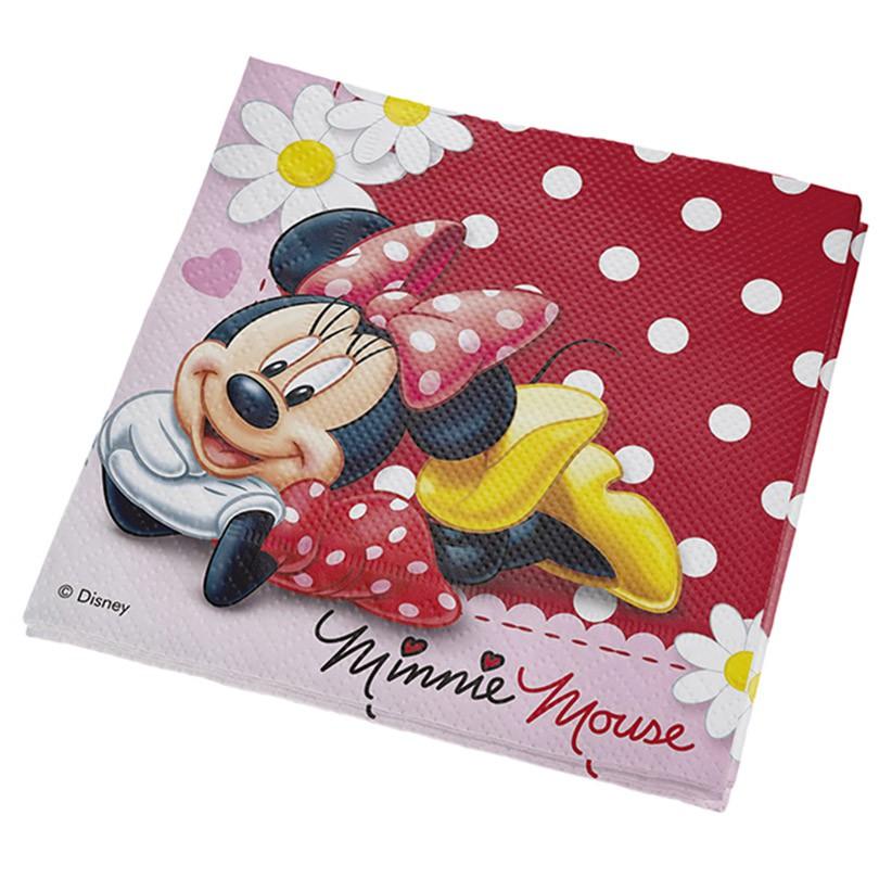 Guardanapo Minnie Mouse - 16 unidades