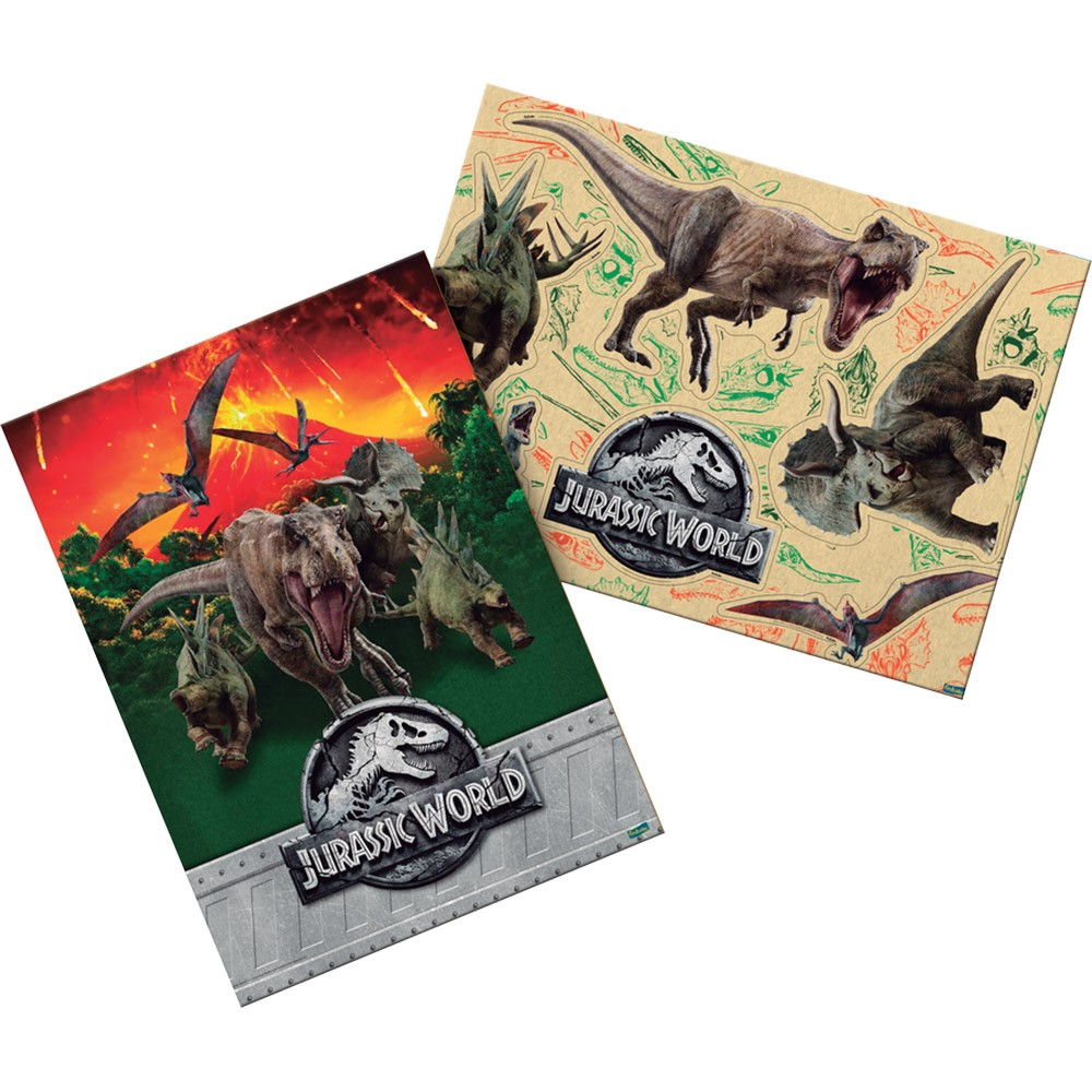 Kit Decorativo Jurassic World