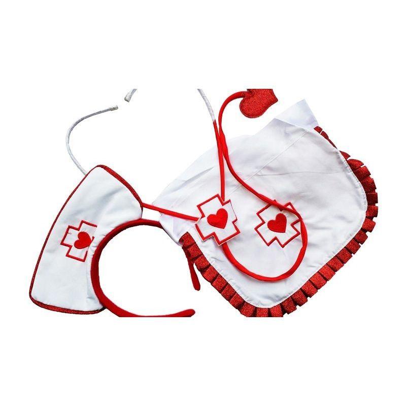 Kit Fantasia Enfermeira Luxo