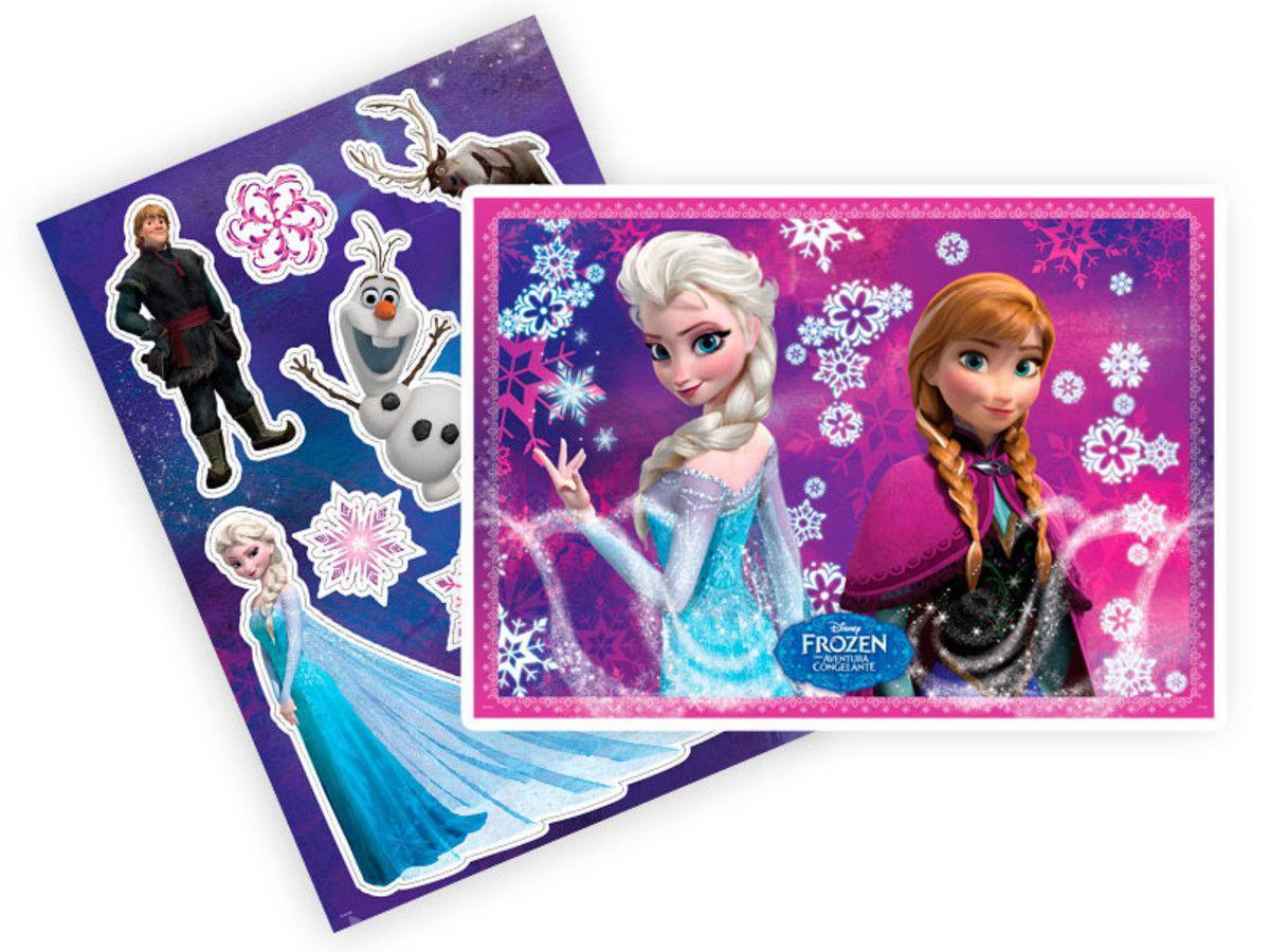 Kit Painel Decorativo Frozen Aventura Congelante