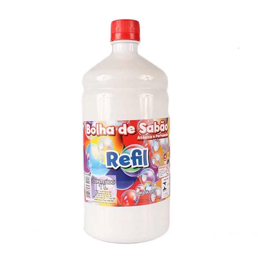 Liquido Refil para Bolha de Sabão 1L