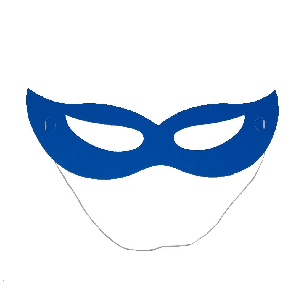 Máscara Azul Neon - 12 Unidades