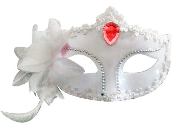 Máscara Veneziana Noiva