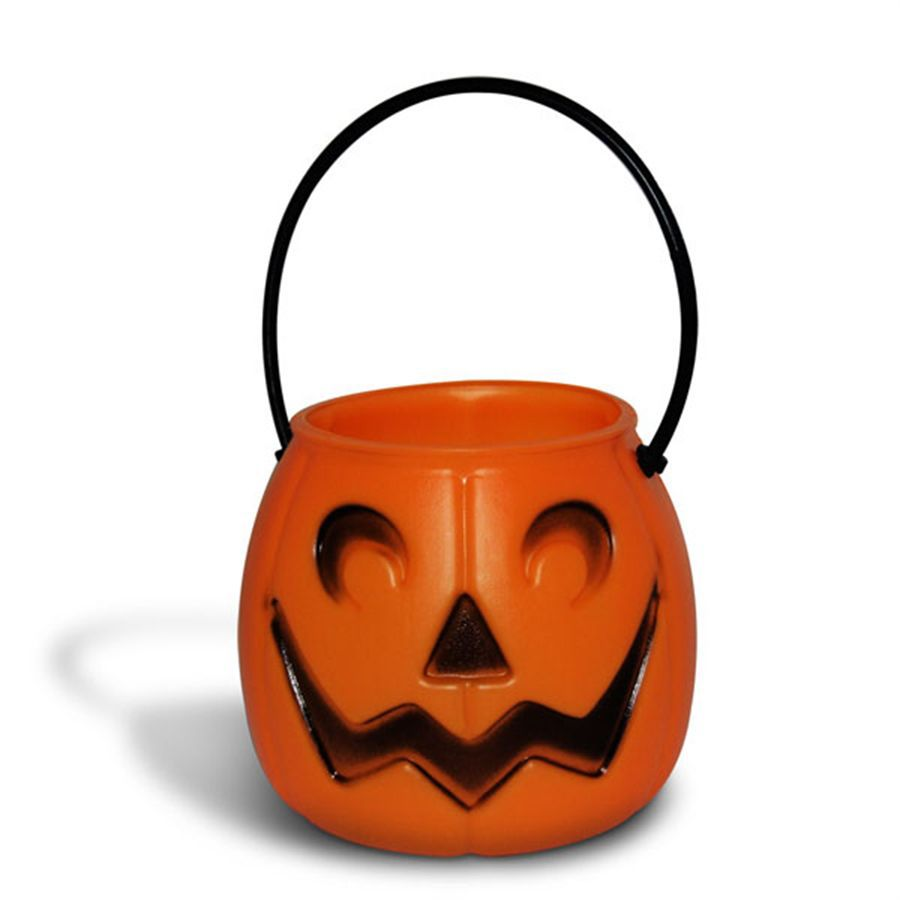 Mini Balde de Abóbora Halloween