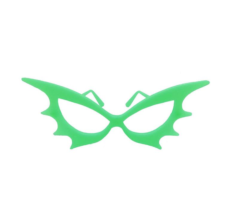 Óculos  p/ Festa Morcego - Brilha no escuro