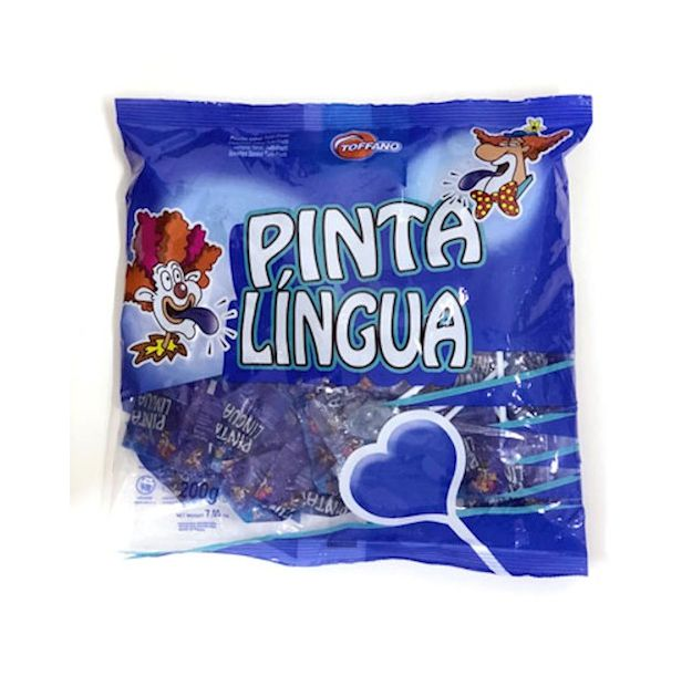 Pirulito Pinta Língua 200g