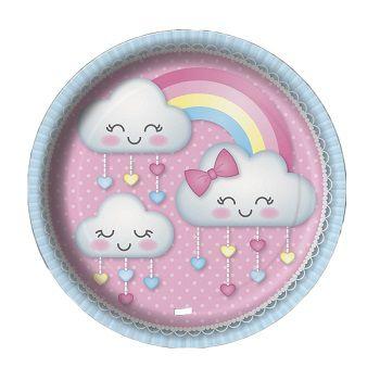 Prato Chuva de Amor - 8 unidades