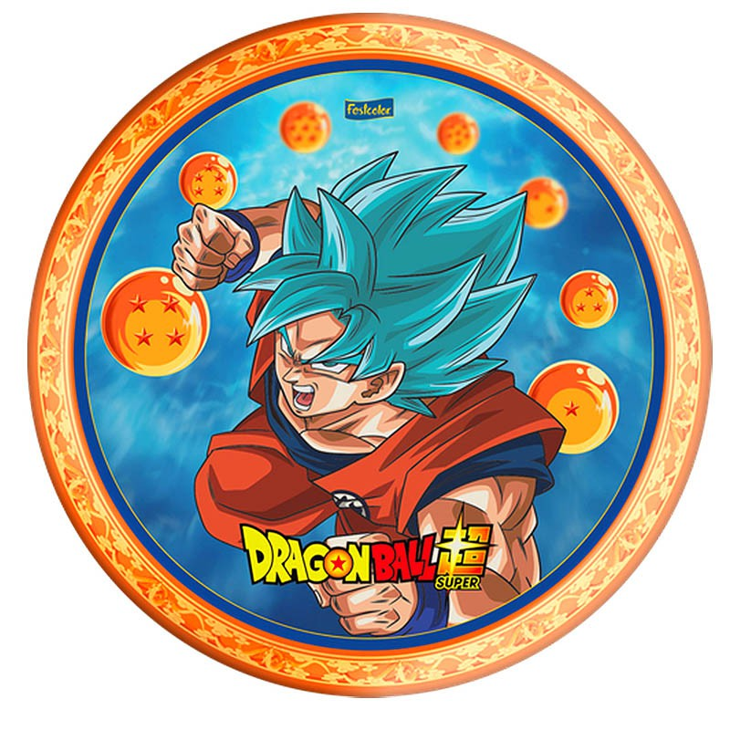 Prato Dragon Ball - 8 Unidades