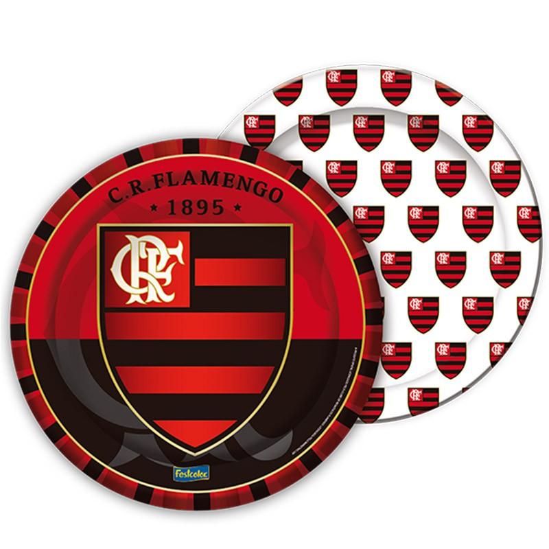 Prato Flamengo - 8 unidades