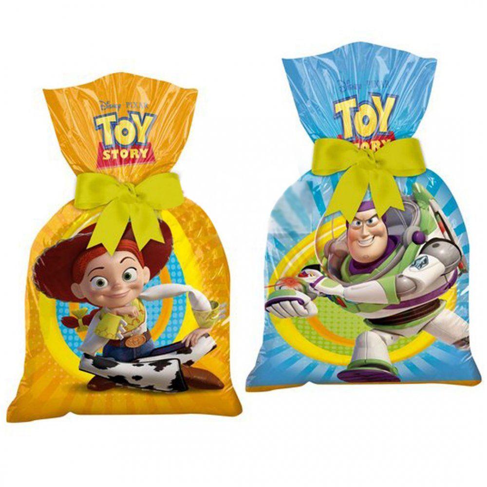Sacola Surpresa Toy Story com 8 unidades