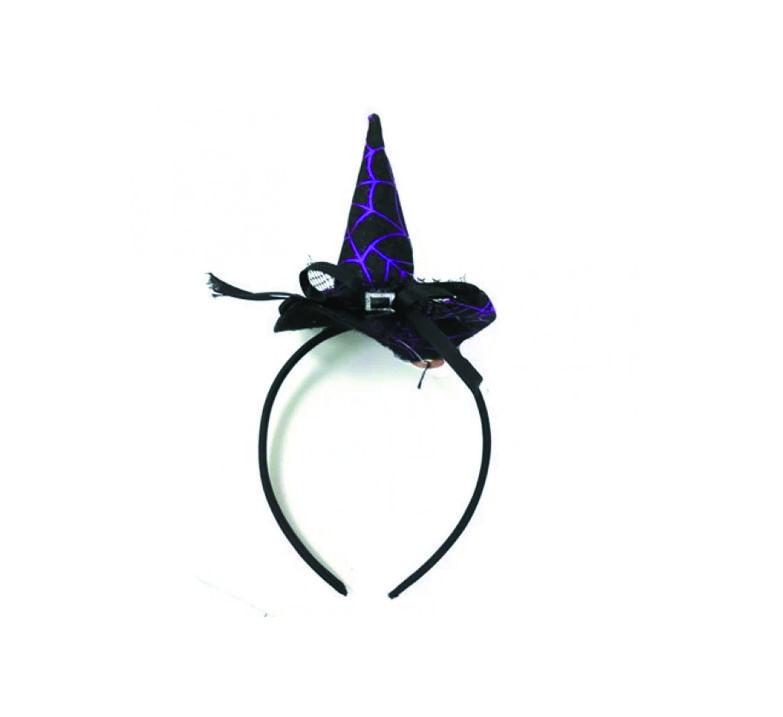 Tiara Chapéu Bruxa -  Halloween