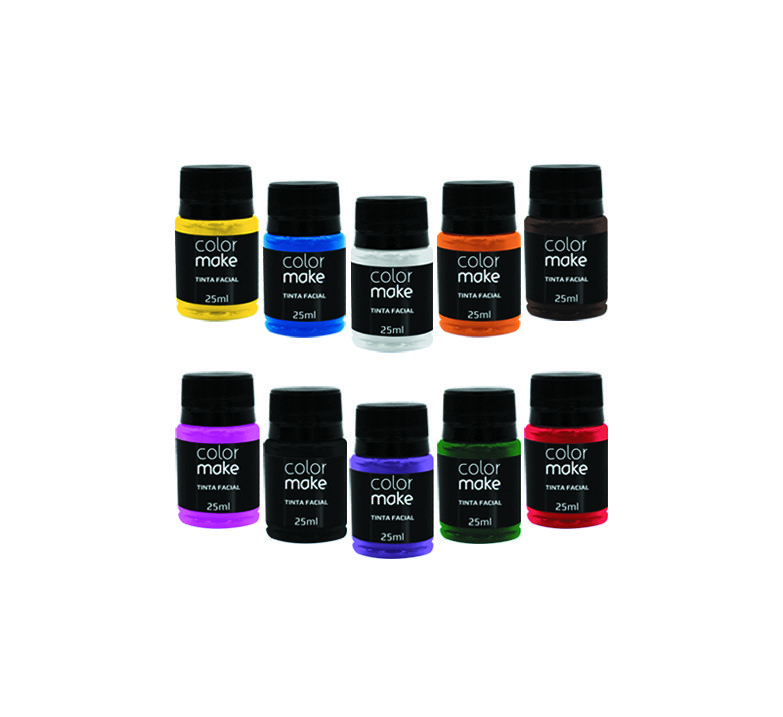 Tinta Facial Color Make 25 ml