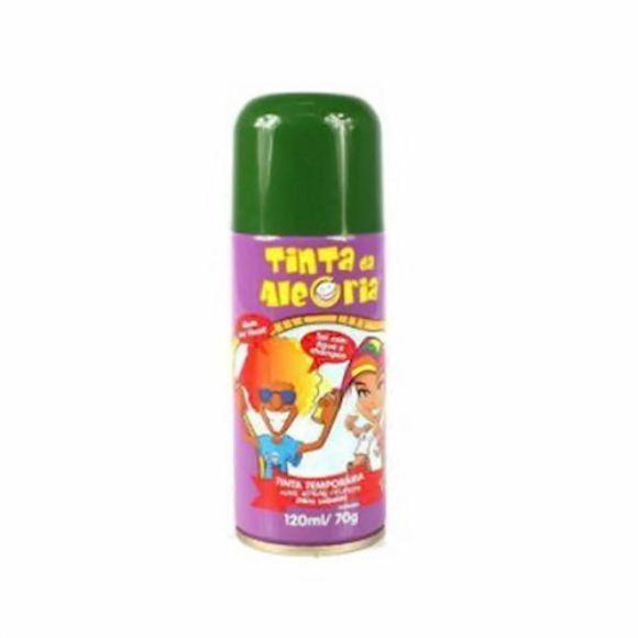 Tinta Temporária para Cabelo em spray - Verde