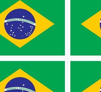TNT  Estampado Bandeira do Brasil - 5 Metros