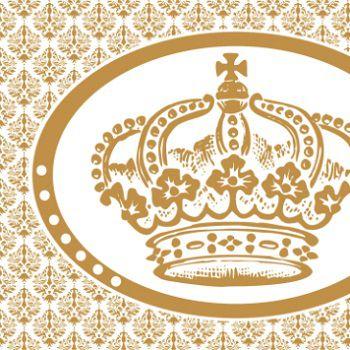 Painel TNT Coroa Dourada
