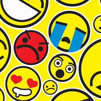 TNT Estampado Emoji - 5 Metros