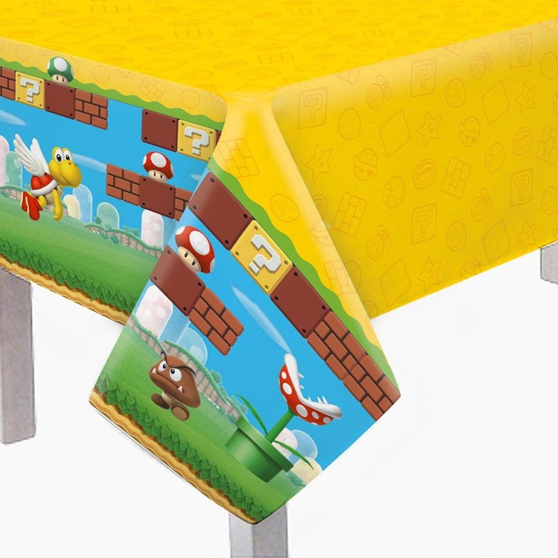 Toalha de Mesa Super Mario