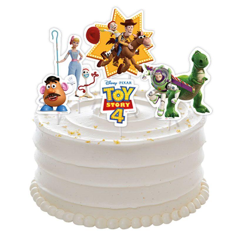 Topper de Bolo Toy Story - 5 Unidades