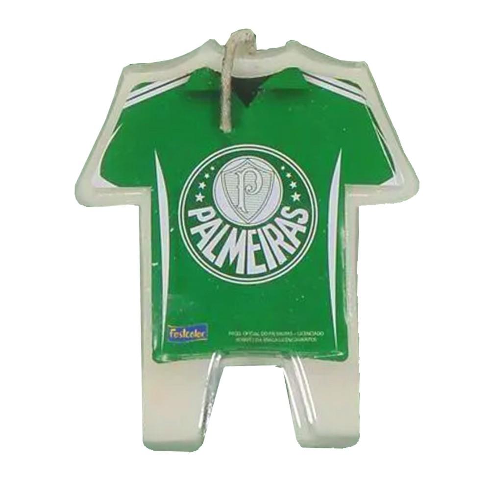 Vela de Aniversário Camisa Palmeiras