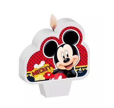 Vela de Aniversário Mickey