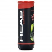 Bola de Tênis Head Championship - tubo com 3 bolas