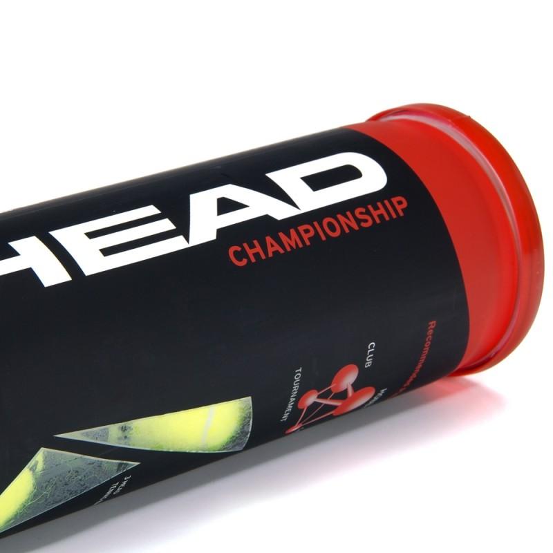 Kit com 2 tubos de Bola de Tênis Head Championship