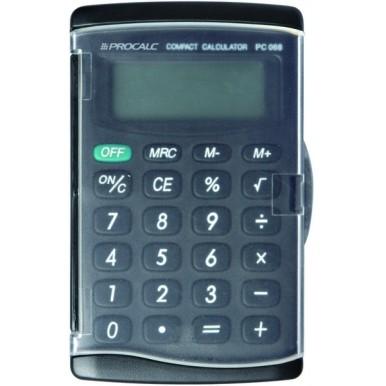 Calculadora Pessoal 8 Dígitos PC068-B - Preto