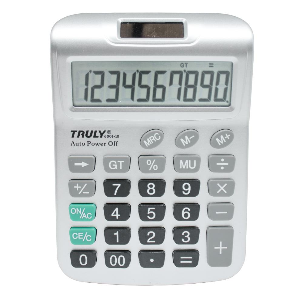 Calculadora de Mesa 10 Dígitos  - 6001-10