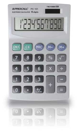 Calculadora de Mesa 10 Dígitos PC101