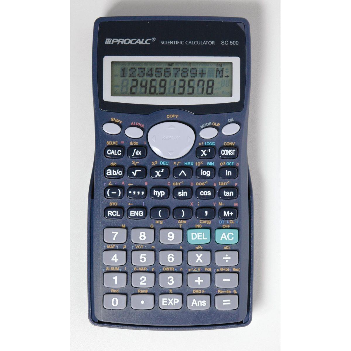 Calculadora Cientifica 401 funções - SC500