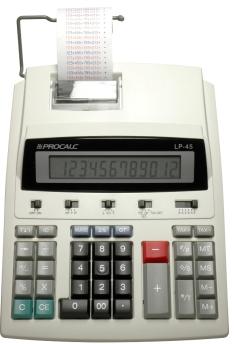 Calculadora de Impressão Semi Profissional 12 Dígitos - LP45