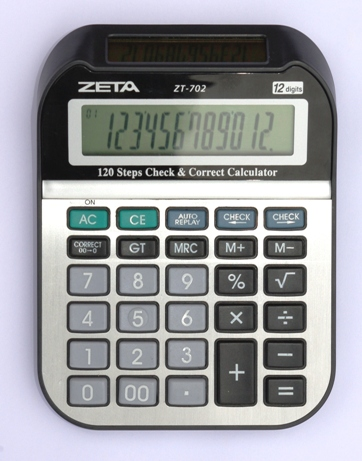 Calculadora de Mesa 12 Dígitos - ZT702