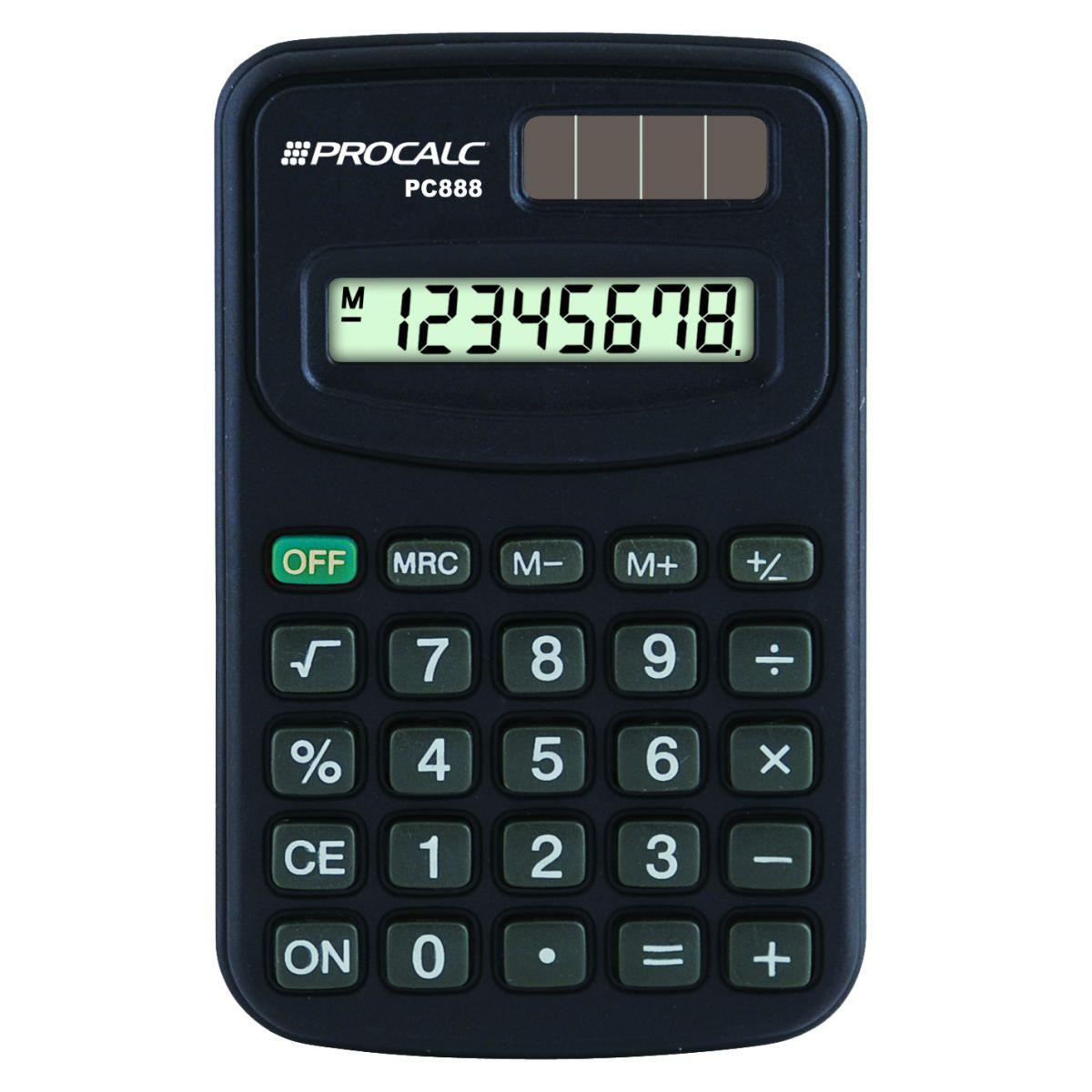 Calculadora Pessoal - 8 Dígitos - PC888