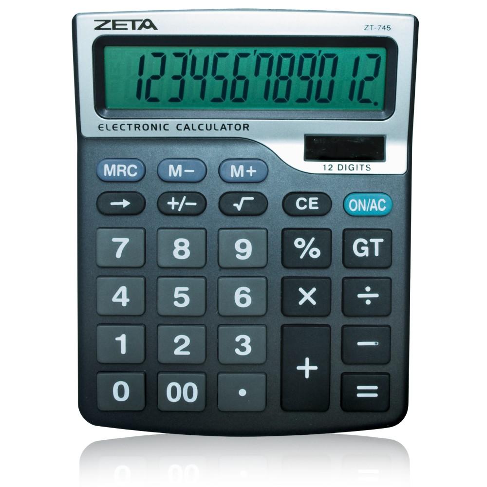 Calculadora de Mesa 12 Dígitos - ZT745