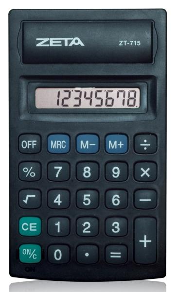 Calculadora Pessoal 08 Dígitos - ZT715