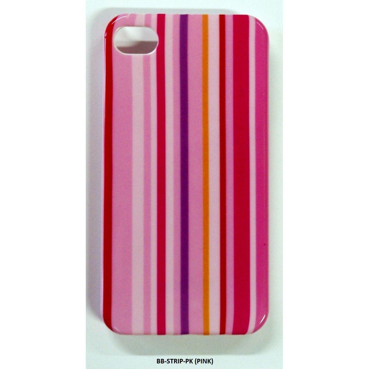 PACK Compre 7 Capas Pague 3 - Capa iphone 4 / 4S RosaStrip