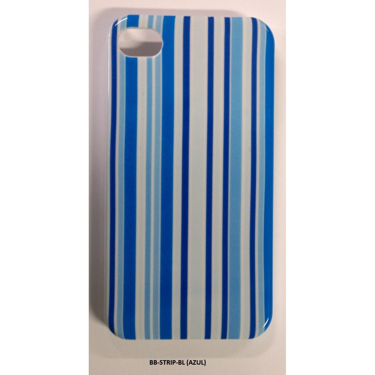 PACK Compre 7 Capas Pague 3 - Capa Iphone 4/4S AzulStrip