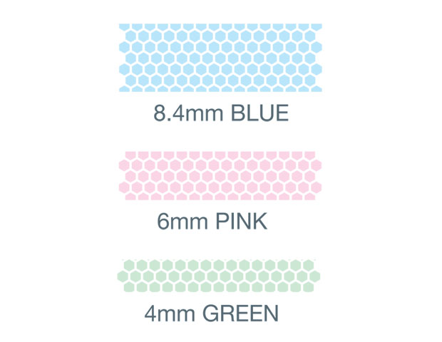 Cola em Fita -  NORINO -  Pink - 8m x 6mm - PLUS JAPAN