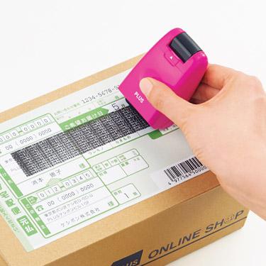 Carimbo de Segurança Roller / Pink + Brinde