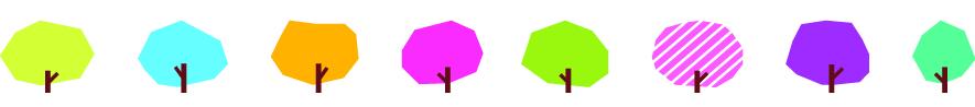 Refil - Fita Decorativa -  Deco  Rush -  Árvores - PLUS