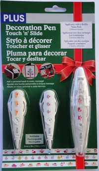 Fita Decorativa -  Deco Rush -  Pack de Natal 1 - Pack 1+2 - PLUS JAPAN