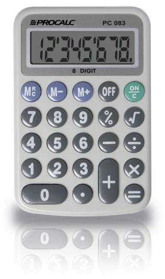 Calculadora Pessoal  8 Dígitos - PC083